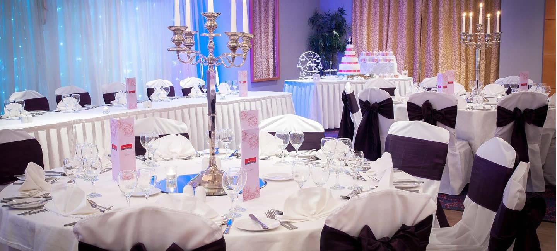 Wedding Reception Venue Set up